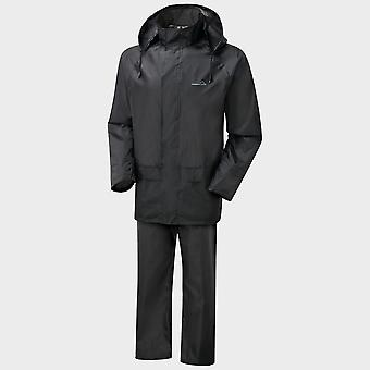 Nieuwe Freedom Trail Men's Essential Waterproof Suit Zwart