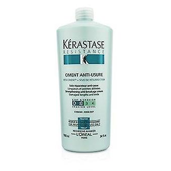 Resistance Ciment Anti-Usure Strengthening Anti-Breakage Cream - Rinse Out (For Damaged Lengths & Ends) 1000ml or 34oz