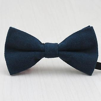 Fashion Imitation Wool Kids Bow Tie- Cute Candy Colors, Baby Bowtie Flower Girl