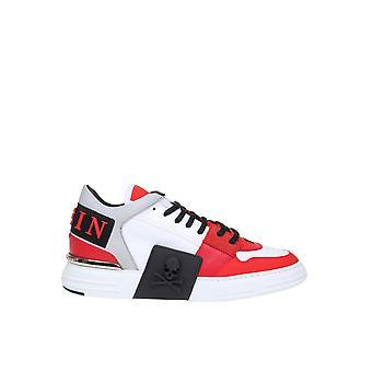 Philipp Plein Msc2267pte029n13 Heren's Multicolor Leather Sneakers