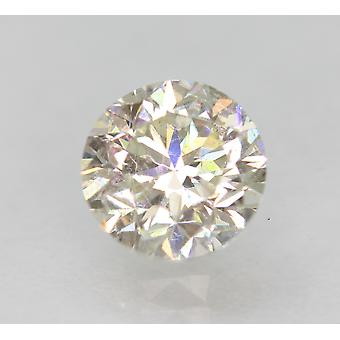 Zertifiziert 0.93 Karat H VVS2 Round Brilliant Enhanced Natural Loose Diamond 5.86m