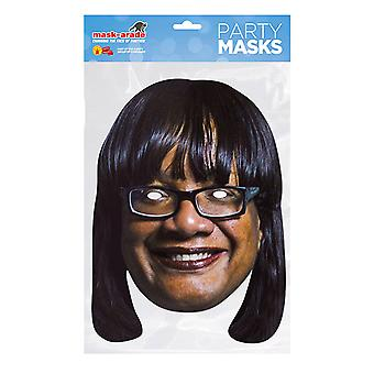 Mask-arade Diane Abbott Celebrities Party Face Mask
