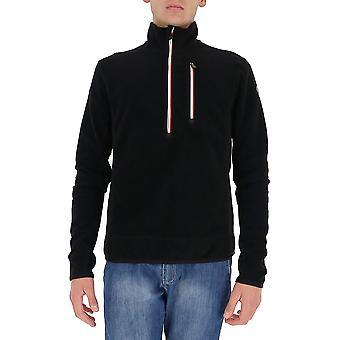 Moncler Grenoble 8g70180093999 Men's Black Polyester Sweatshirt