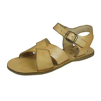 Angela Brown Brogan Flickor Läder Sandaler - Beige