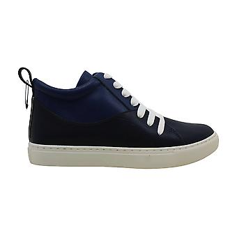 Kenneth Cole New York Womens Kelani Leather Low Top Lace Up Fashion Sneakers