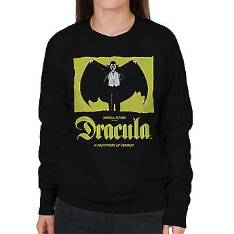 Dracula Nightmare Of Horror Women's Sweatshirt