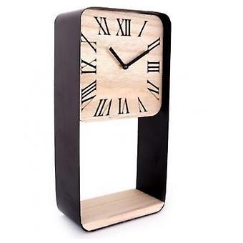Estante del reloj del marco del metal de 40X20 Cm