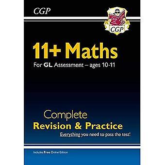 Ny 11+ GL Matematik Komplet Revision og Praksis - Alder 10-11 (med Online Edition)