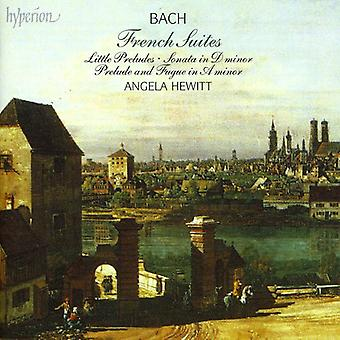 J.S. Bach - Bach: French Suites; Little Preludes [CD] USA import