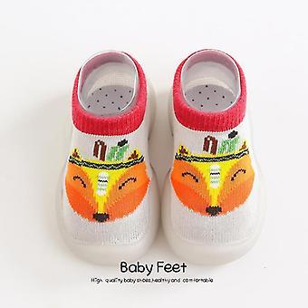 Baby First Walkers Pehmeä Pohja Kumi Ulkona Vauvan Kengät, Söpö Eläinten Vauva