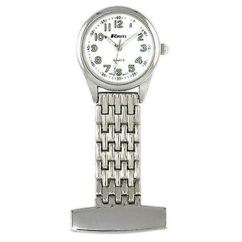 Nurses fob watch stainless steel luxury nurses watch made by ravel
