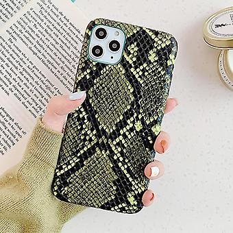 Snake Skin Pu Leather Phone Case, Crocodile Texture, Back Cover