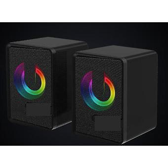 Usb Powered, Mini Rgb Beleuchtung, Hifi Subwoofer Lautsprecher