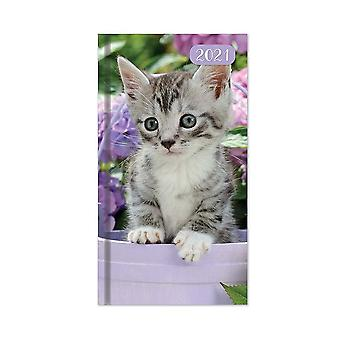 Tallon 2021 Slim Diary - Week To View Kittens