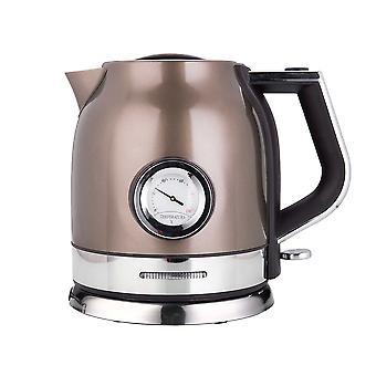 Stainless Electric Kettle With Water Temperature Control, Meter Household Quick