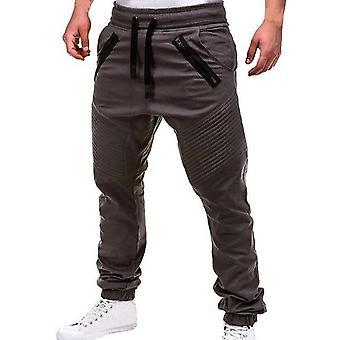 Männer Casual Joggerhosen Solid Cargo Sweatpants Multi-Pocket Hose