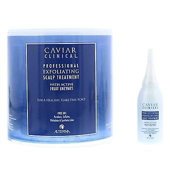 Alterna Caviar Clinical Exfoliating Scalp Treatment 12 x 15ml With Fruit Enzymes