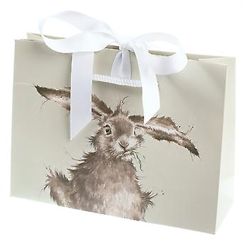 Wrendale Designs Hamster Sock with Gift Bag - Diet Starts Tomorrow