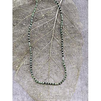 Colier verde tourmaline & peridot
