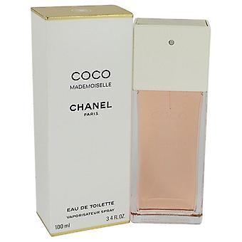 Coco mademoiselle eau de toilette spray by chanel 532712 100 ml