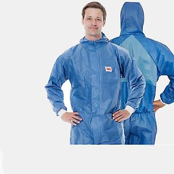 Disposable Coverall Protective Clothing Hooded Dust-proof Breathable Safety