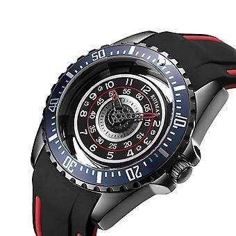 RUIMAS 549 Hollow Design Silicone Sport Men Watch Fashionable Quartz Watches