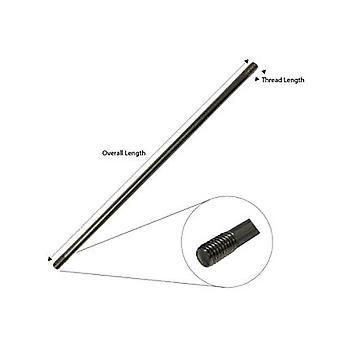 Tiebar 350 mm längd - M6 * 10 mm / 10 mm gänga - T304 rostfritt stål