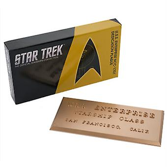 Star Trek Plaque 4 (Tos) USA import