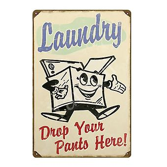 Laundry Cleaning/kitchen Herb/garden Poster Painting Plate For Shop/home