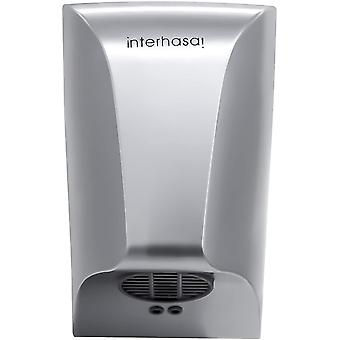 interhasa! Automatic Hand Dryer Wall-mounted Mini High Speed Dryer with 600W Energy Efficient