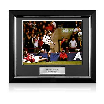 ريان غيغز مانشستر يونايتد وقعت الصورة : كأس الاتحاد الانجليزي نصف النهائي وندر الهدف. الإطار ديلوكس