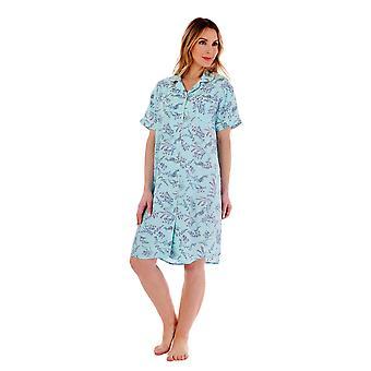 Slenderella NS77241 Women's Floral Nightshirt