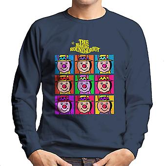 The Magic Roundabout Brian Pop Art Men's Sweatshirt