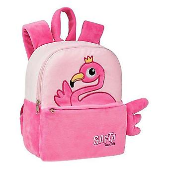 Child bag safta pink flamingo