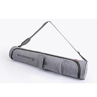 Scandinavian inspired style waterproof heavy duty yoga mat bag with double zipper and pockets.