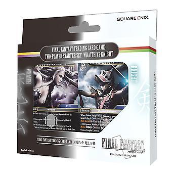 Final Fantasy TCG 2-pelaajan aloitussarja Wraith vs Knight