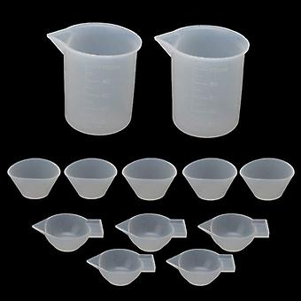 Silicone Mixing Measuring Cups
