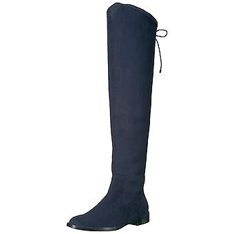 Kenneth Cole Reaction Womens Wind Chime Fabric Closed Toe Over Knee Fashion Boots