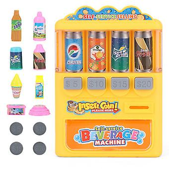 Children's Beverage Machine Toy Coin-operated Vending Machine Fun Play House