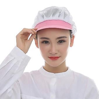 Elastic Mesh Caps Café Bar Kitchen Restaurant Chef Work Wear Hats