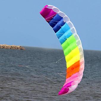 Aquilone volante da spiaggia all'aperto