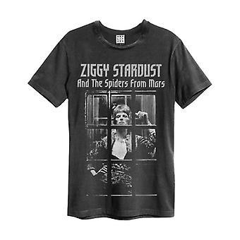 David Bowie Vintage T Shirt - Aufstieg und Herbst