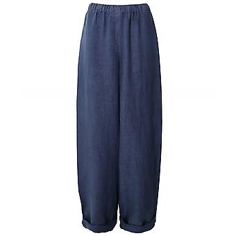 Oska Hilla Wide Leg Linen Trousers