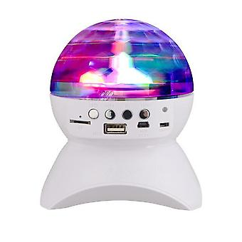 Wireless bluetooth Disco Ball Party Music Speaker LED Light Show for iPhone Xiaomi Huawei