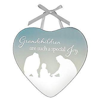 Reflections Of The Heart Grandchildren Plaque