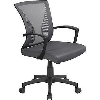 FengChun Brostuhl Schreibtischstuhl Arbeitsstuhl mit Mesh Netz Chefsessel mit Rckenlehne und