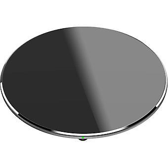 FengChun Drahtloses Ladegerät W3 Mini Dünnstes Schnellladepad mit CNC-Unibody-Schlaf-Schwarz von