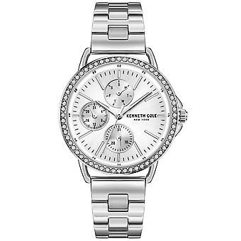 Kenneth Cole Kc51066001a Modern Classic Czech Silver Stainless Steel Ladies Watch