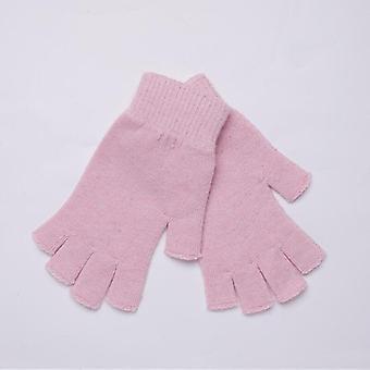 Gants sans doigts extensibles en laine unisexe