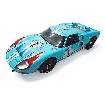 Ford GT40 Mk II Ken Miles - Denny Hulme (Le Mans 24Hrs 2nd Place 1966) Diecast Model